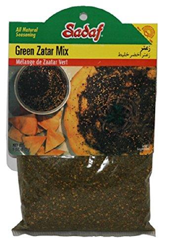 Sadaf Green Zatar Mix, 6 Oz (Pack of 2) by Sadaf