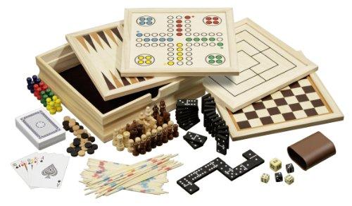 Philos フィロス 木製ゲームセット 10種詰め合わせ 小型