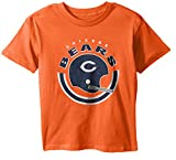 "NFL Youth Boys ""Cannon Ball"" Short Sleeve Tee-Orange-XL(18), Chicago Bears"