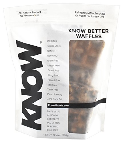 KNOW Better Bread Foods Waffles, 4 Count