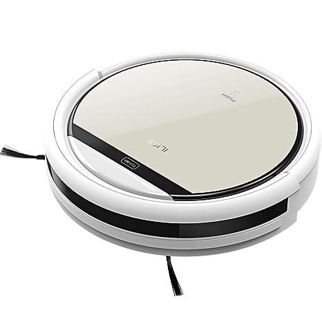 FJHJB Ilife V5 Aspirador Robot de Limpieza LCD táctil Control Remoto Aspirador 100% Like The