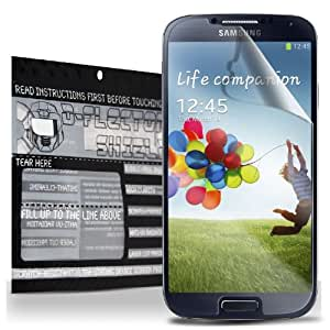 D-Flectorshield Scratch Resistant SAMSUNG GALAXY S4 SIV S IV Premium screen protector/anti-scratch/scratch resistant/self-healing technology/oleophobic material/high definition/bubble free install/Precise and accurate fitment with lifetime free replacement program