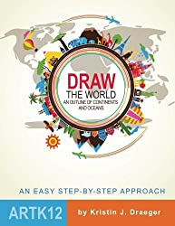 Draw the World: An Outline of Continents and Oceans