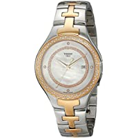 Tissot T12 Mother of Pearl Dial Diamond Two-tone Women's Watch