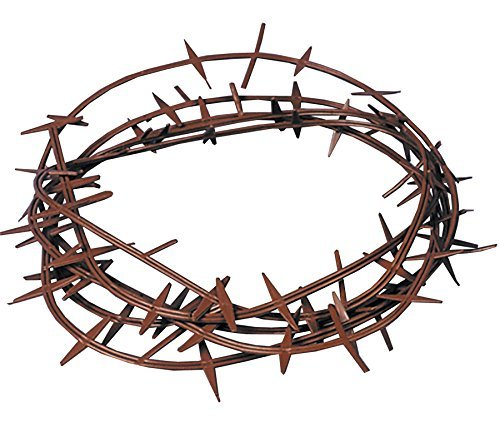 UHC Realistic Crown of Thorns Holiday Religious Headpiece Halloween Accessory ()