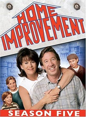 Amazon Com Home Improvement Season 5 Tim Allen Patricia Richardson Richard Karn Earl Hindman Jonathan Taylor Thomas Zachery Ty Bryan Tara Noah Smith Movies Tv