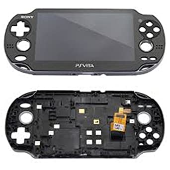Pantalla LCD + Tactil+ Carcasa PS Vita Negra USADO: Amazon ...