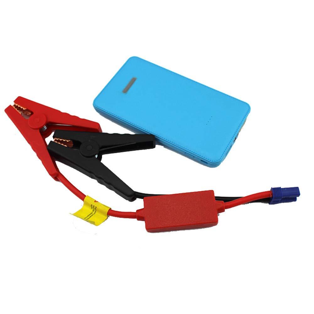 Transser 6000mAh Car Jump Starter, 12V Auto Battery Booster - Mini Slim Portable Power Pack (Blue) by Transser-