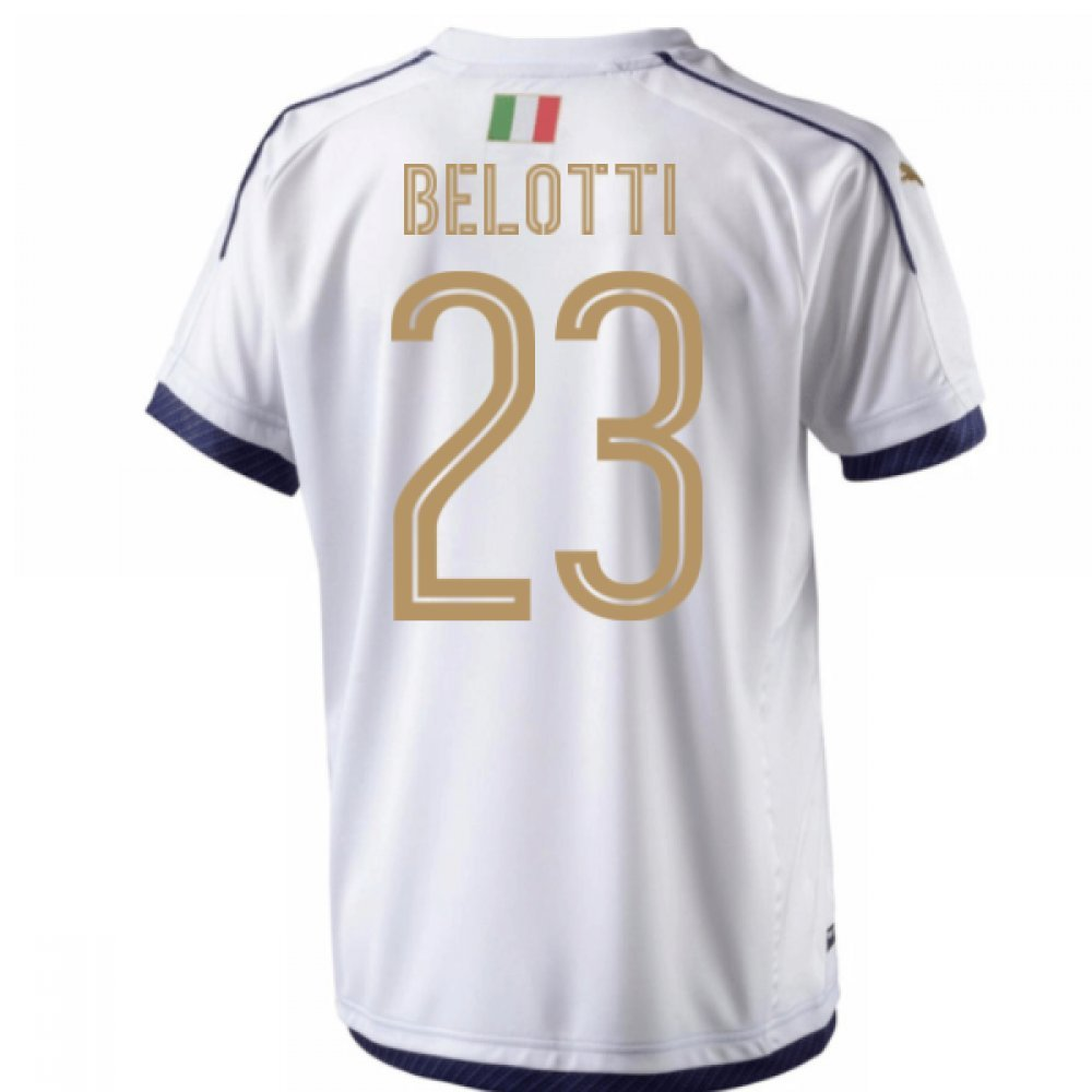 2006  Tribute Away Football Soccer T-Shirt Trikot (Andrea Belotti 23)