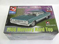 #38161 AMT /Ertl 1966 Mercury Hard Top 1/25 Scale Plastic Model Kit,Needs Assembly by AMT