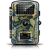 【Upgraded】 Trail Game Camera-ENKLOV 12MP 1080P Wildlife Hunting Camera with Infrared Night Vision,26pcs 940nm IR LEDs,2.4inch LCD Screen,IP66 Waterproof