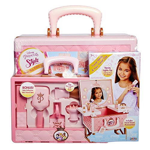Disney Princess Style Vanity and Hair Tote Playset