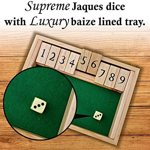Cierra la caja de madera con 9 Números: Amazon.es: Juguetes y juegos