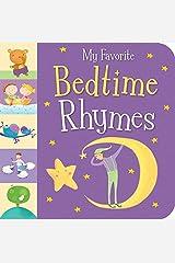 My Favorite Bedtime Rhymes by Sanja Rescek (2015-03-01) Hardcover