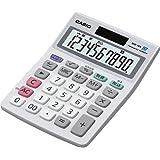 カシオ スタンダード電卓 時間・税計算 ミニジャストタイプ 10桁 MW-10A-WE-N