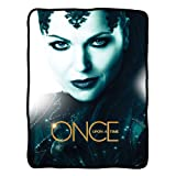 Once Upon a Time Evil Queen Fleece Blanket