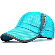 ELLEWIN Unisex Summer Baseball Cap Sports Mesh Hat for Golf Running Fishing