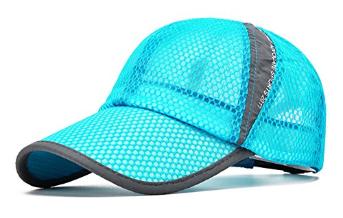 (ELLEWIN Summer Baseball Cap Quick Dry Cooling Sun Hats Flexfit Sports Caps Mesh Hat for Golf Cycling Running Fishing Outdoor)