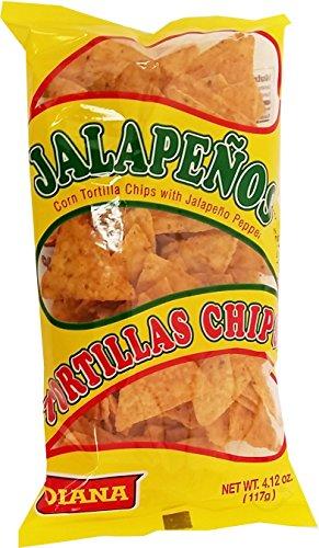 UPC 688474667877, Prodiana Jalapeno Snacks 4.12 oz - Tortilla (Pack of 6)