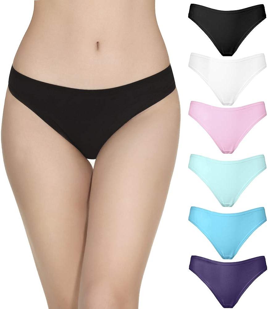 Zegoo Girls Cotton Hipster Underwear Pink 3 Pack