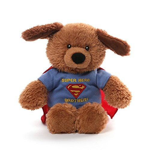 Custom Superman Costumes (Gund Griffin DC Comics Superman Brother T-shirt Plush Dog Plush)