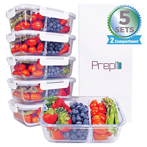 food containers two compartments - 8