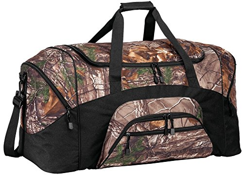 Joe's USA Realtree Xtra Camo Pattern Rugged Outdoors Duffel Bag.