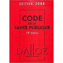Code de la santé publique 2004