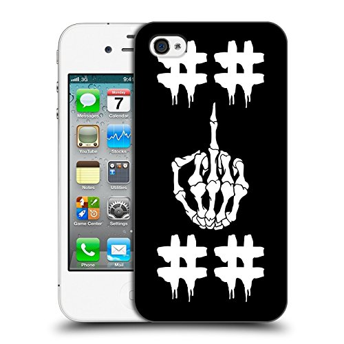 Official Been Trill Double Hashtag Skulls Hard Back Case for Apple iPhone 4 / 4S