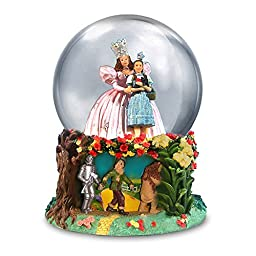 The Wizard of Oz Glinda and Dorothy Water Globe by The San Francisco Music Box Company