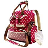 Baby Backpack Diaper Bag with Stroller Straps - Multi-Function Waterproof Maternity Nappy Bags for Travel with Baby - Large Capacity, Durable and Stylish, Baby Bag Backpack for mom by iFend