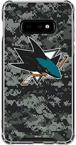 f86c4355c51 Skinit San Jose Sharks Camo Galaxy S10e Clear Case - Officially Licensed NHL  Phone Case Clear
