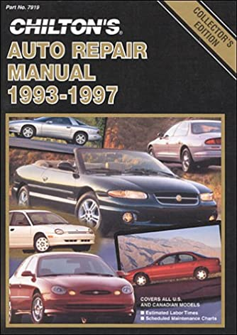 chilton s auto repair manual 1993 97 perennial edition chilton rh amazon com Chilton Auto Repair Manual Scout II Chilton Auto Repair Manual Scout II