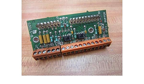 Reliance Electric 0-57005 Remote Operator Buffer PC Board