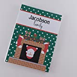 Santa Clause Photo Album #IA812 Holiday Christmas Gift Personalized Brag Book 4x6 or 5x7 Picture