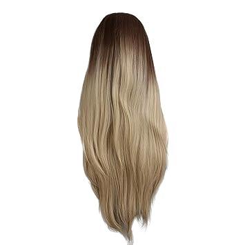 Mittellange haare zweifarbig