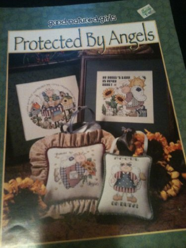 Good-Natured Girls Protected by Angels Counted Cross Stitch Chart