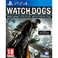 Ubisoft Watch Dogs Special Ed. [Playstation 4]