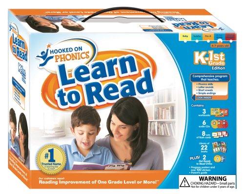 Learn to Read K-1st Grade Full Kit - Full Grade Kit