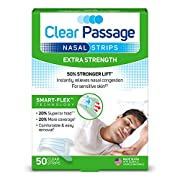 Smart-Flex Patented Technology Nasal Strips  Works instantly to  Improve sleep  Reduce snoring  Relieve nasal congestion due to colds or allergies  Use for  Sleeping  During the day  Exercising