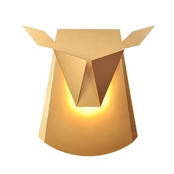Post Modern Einfache Hirsch Kopf Wand Lampe American Animal Konzept Licht  Und Schatten Persönlichkeit Wohnzimmer