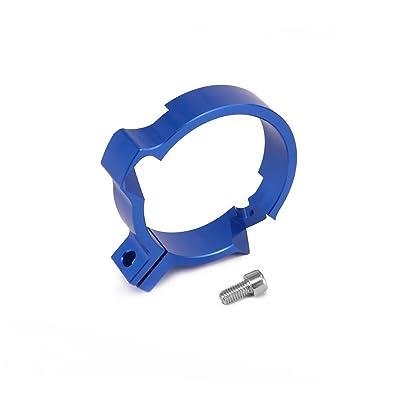 "Motorcycle 72MM 2.83"" Exhaust Flange Protector Muffler Pipe Clamp CNC For Husqvarna TC250 TE250 TC TE 250 TE300 TX300 TE TX 300 2020-2020 Blue: Automotive"
