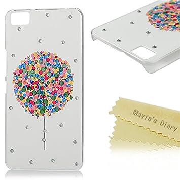 bq Aquaris M5 Funda Transparente Cristal PC Case Dura - Maviss Diary® Funda para móvil Carcasa Resistente a los Arañazos para fundas bq Aquaris M5 ...
