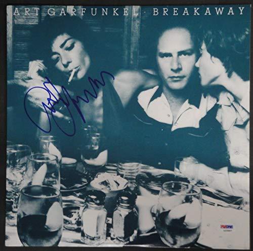 (Art Garfunkle Hand Signed Vintage Autographed Record Album Breakaway PSA L10497)