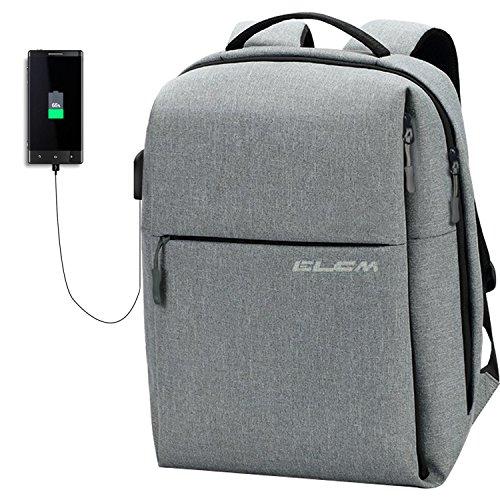 Laptop Backpack, 【Fits Under 15.6