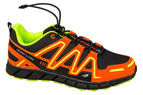 gibra - Zapatillas de Material Sintético para mujer negro/naranja