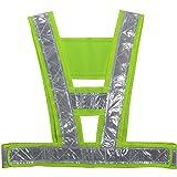 Ueasy V Type Safety Vest Reflective Vest Night Safety Runner & Sports Gear