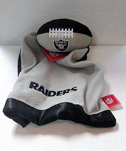 Oakland Raiders Snuggle Ball Blanket