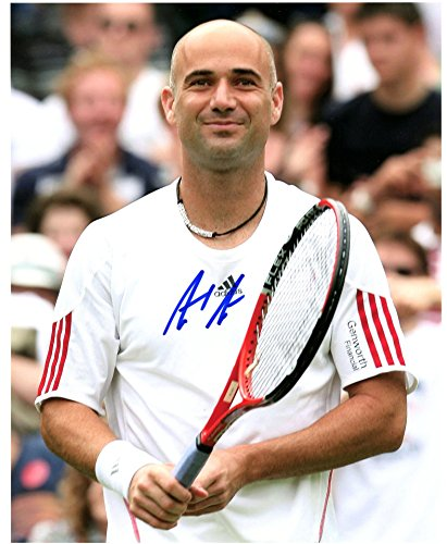 Andre Agassi Autographed 8