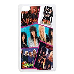 FOR IPod Touch 4th -(DXJ PHONE CASE)-Kiss Music Band-PATTERN 8